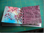 self-decorated book