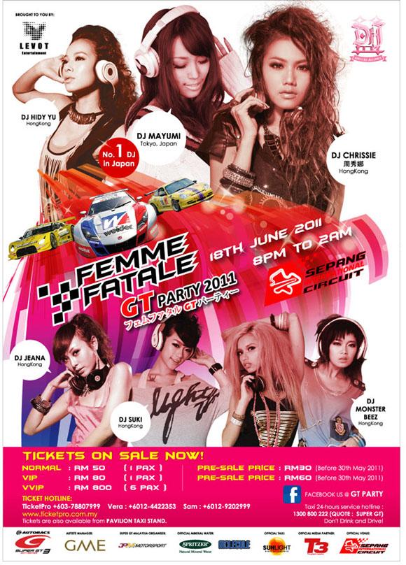 Femme Fatale GT Party 2011