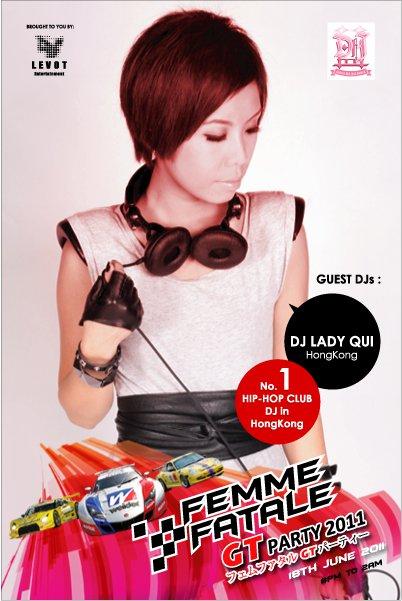 DJ Lady Qui, Hong Kong