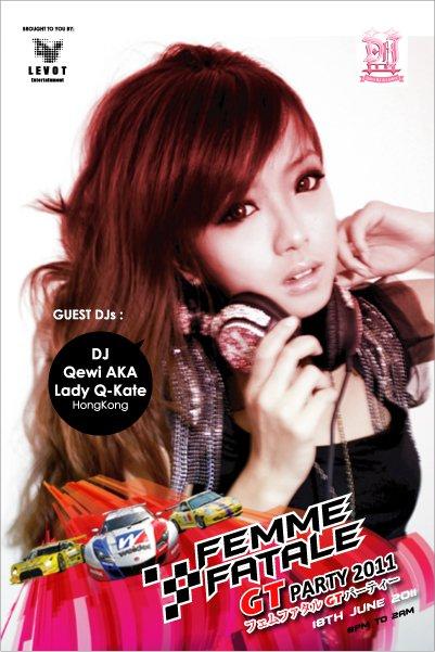 DJ Qewi AKA Lady Q-Kate, Hong Kong