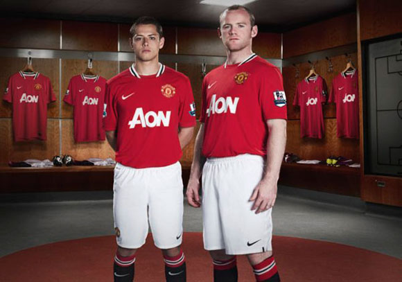 Manchester United 2011/2012 Home Jersey