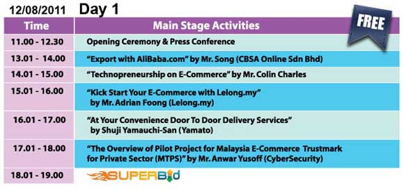 lelong ecommerce fair - day 1