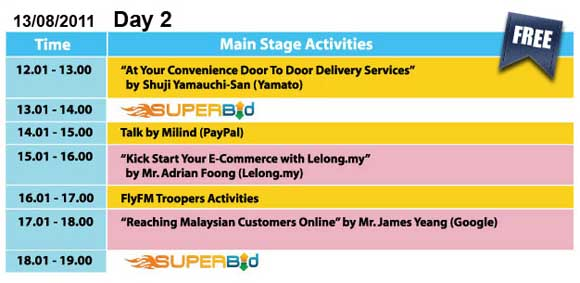 lelong ecommerce fair - day 2