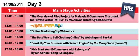 lelong ecommerce fair - day 3