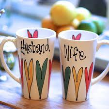 personalized latte mug for couple