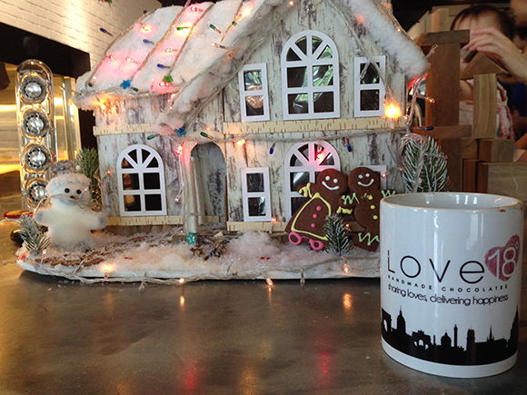 Have a cup of Hot Chocolate during this Winter Christmas in Love18 Chocolate Cafe. Dont forget to try the First Love Chocolate with your loveone too:)